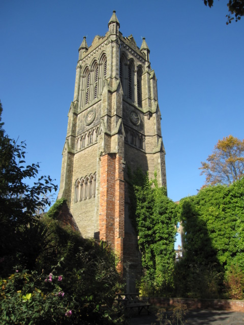 Christ Church Tower photograph
