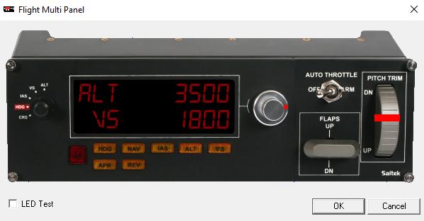 FSX: Fixing the Saitek Multi Panel blank screen issue